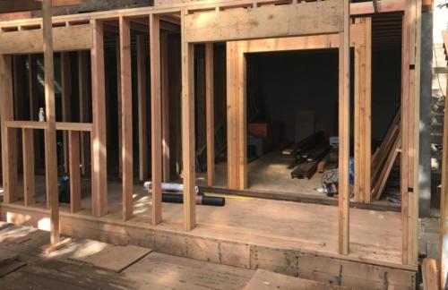 Framing / Exterior Staircase