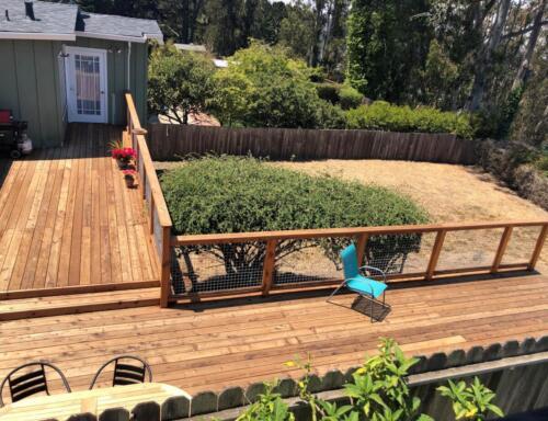 7. Anitas deck finished