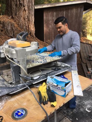 mark tile saw