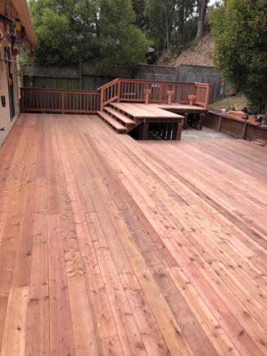 Finished Deck-long view