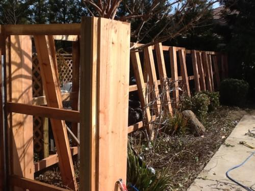 Wood Fencing 01